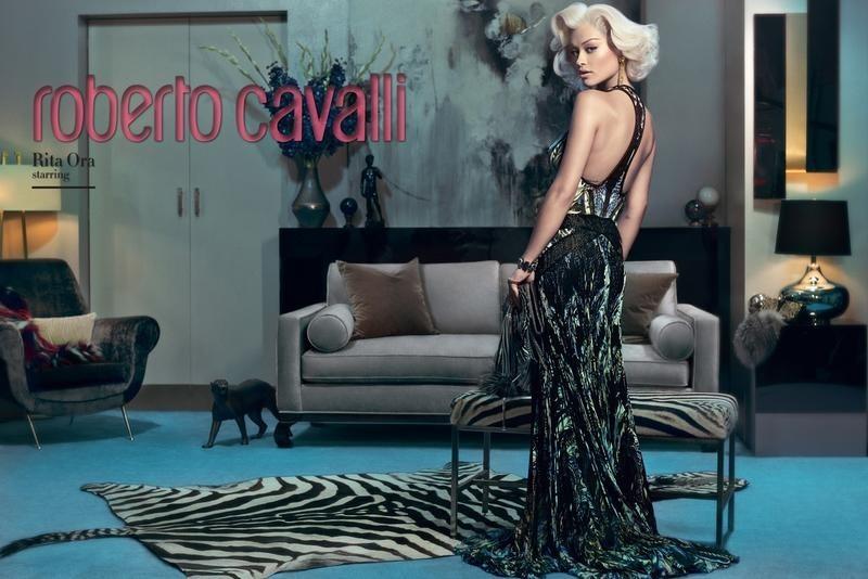 Roberto-Cavalli-Fall-Winter-2014-Rita-Ora-Francesco-Carrozzini-1-1