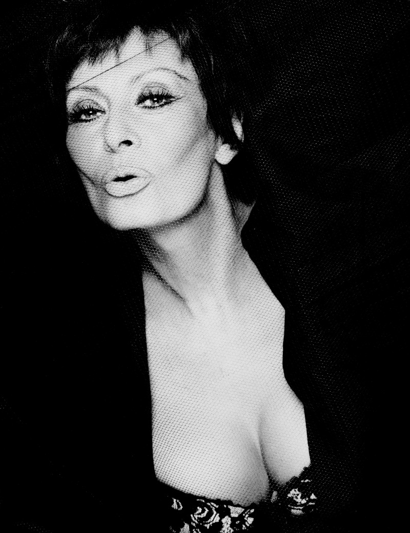 4_Sophia Loren_Rome 1994_copyright Greg Gorman